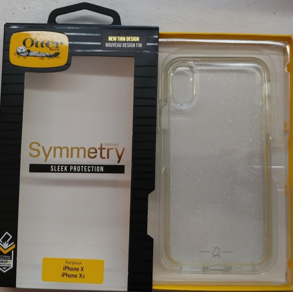 39e502fe9ff2a6 OtterBox Accessories | Symmetry Series Glitter Clear Iphone X Xs ...